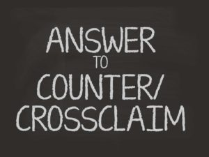 answer to counterclaim